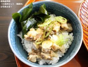 鶴亀屋春慶「小盛丼セット・焼豚丼」