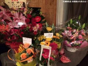 お花もいっぱい! 大海先生原画展
