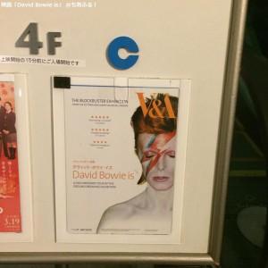 David Bowie is@立川シネマツーCスタジオ