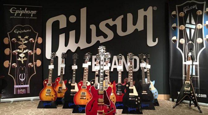 Gibson Brands Showroom TOKYOは楽しい。