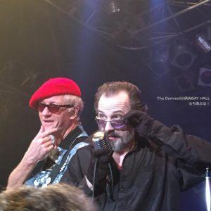 The Damned Captain Sensible & Dave Vanian@YOKOHAMA BAY HALL 4 March,2017 / Photo by cheersbon