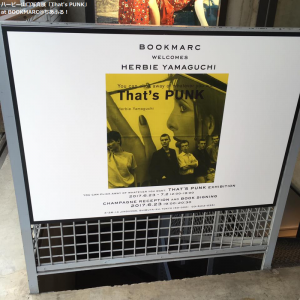 ハービー山口「That's PUNK」展@BOOKMARC