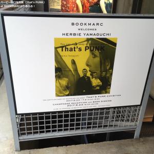 ハービー山口「That's PUNK」展@BOOKMARC
