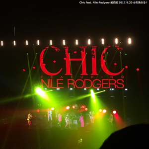 Chic feat. Nile Rodgers @BUDOKAN 20 Sep.2017