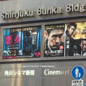 角川シネマ&シネマート新宿の入っているビル