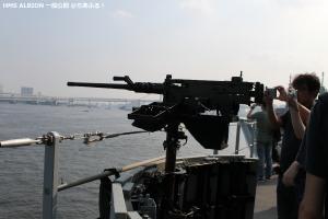 英海軍揚陸艦HMSアルビオン at晴海埠頭