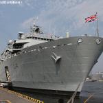 英海軍揚陸艦HMSアルビオンが晴海埠頭に入港。一般公開に行って来ました。
