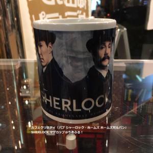 「SHERLOCK」のマグカップ