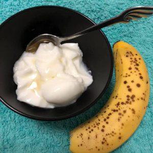 バナナ&ヨーグルト